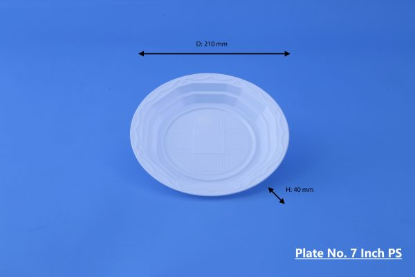 Plate No. 7 Inch GhanPlast